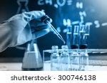 laboratory research  dropping... | Shutterstock . vector #300746138