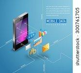 mobile applications for all...   Shutterstock .eps vector #300761705