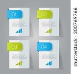 business infographics template... | Shutterstock .eps vector #300769766