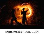 fire show | Shutterstock . vector #30078614