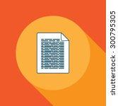 vector document illustration ...   Shutterstock .eps vector #300795305