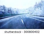 Dangerous Blurred Highway...