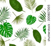 vector seamless pattern with...   Shutterstock .eps vector #300807005