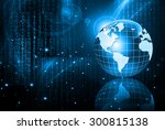 best internet concept of global ... | Shutterstock . vector #300815138