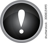 attention sign icon....