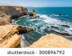 cathedral rock formation ... | Shutterstock . vector #300896792