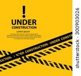 under construction background... | Shutterstock .eps vector #300903026