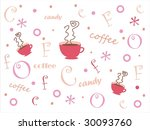 funny white background with... | Shutterstock . vector #30093760