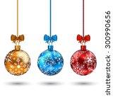 illustration christmas... | Shutterstock . vector #300990656