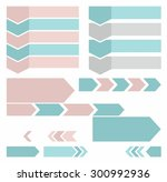 arrows  vertical  horizontal ... | Shutterstock .eps vector #300992936
