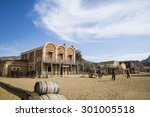 tabernas desert  almeria  spain ...   Shutterstock . vector #301005518