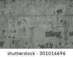 paint peeling from an old wall | Shutterstock . vector #301016696