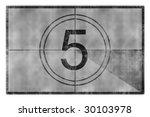 movie countdown   Shutterstock . vector #30103978