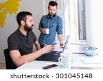 start up team | Shutterstock . vector #301045148