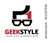 green style vector logo template | Shutterstock .eps vector #301107938