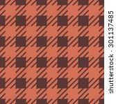 tartan. vector seamless pattern. | Shutterstock .eps vector #301137485
