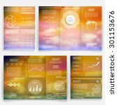 brochures and templates for... | Shutterstock .eps vector #301153676