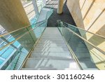 white staircase. abstract... | Shutterstock . vector #301160246