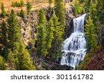 Waterfall At Yellowstone...