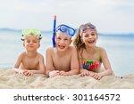 Children Having Fun On The...