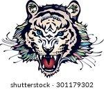 tiger | Shutterstock . vector #301179302