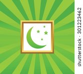 image of crescent moon and...