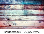 Painted Old Metal Background...