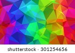 abstract colorful geometrical... | Shutterstock .eps vector #301254656