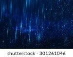 glitter vintage lights... | Shutterstock . vector #301261046