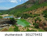 Waterfall Of Crocodile River...