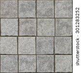 seamless stone  wall  floor ... | Shutterstock . vector #301283252