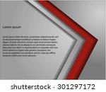 background overlap dimension... | Shutterstock .eps vector #301297172