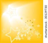 abstract starry orange... | Shutterstock .eps vector #30129730