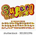 creative high detail colorful... | Shutterstock .eps vector #301301396