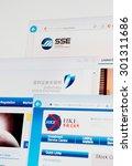 saransk  russia   july 29  2015 ... | Shutterstock . vector #301311686