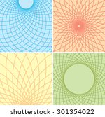 color backgrounds with curved... | Shutterstock .eps vector #301354022