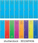 vector background of colorful... | Shutterstock .eps vector #301369436