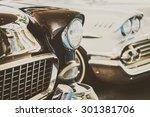 Headlight Lamp  Vintage Car  ...