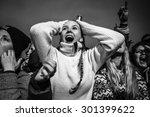 traena  norway   july 9 2015 ... | Shutterstock . vector #301399622