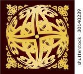 gold pattern | Shutterstock .eps vector #30140239