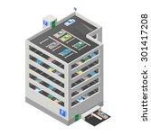 a vector illustration of a...   Shutterstock .eps vector #301417208
