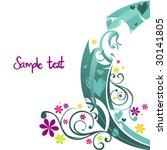 flower fantasy vector   Shutterstock .eps vector #30141805