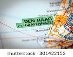 map photography  den haag city... | Shutterstock . vector #301422152