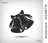 bells icon  | Shutterstock .eps vector #301488776