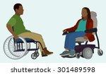 black or african american man... | Shutterstock .eps vector #301489598