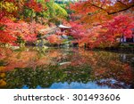 Autumn At Daigoji Temple With...