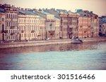 Embankment Of Neva River In...