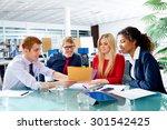 executive business people team...   Shutterstock . vector #301542425