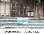 old dirty wooden wall | Shutterstock . vector #301597532