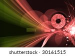 illustration of decorated air... | Shutterstock . vector #30161515
